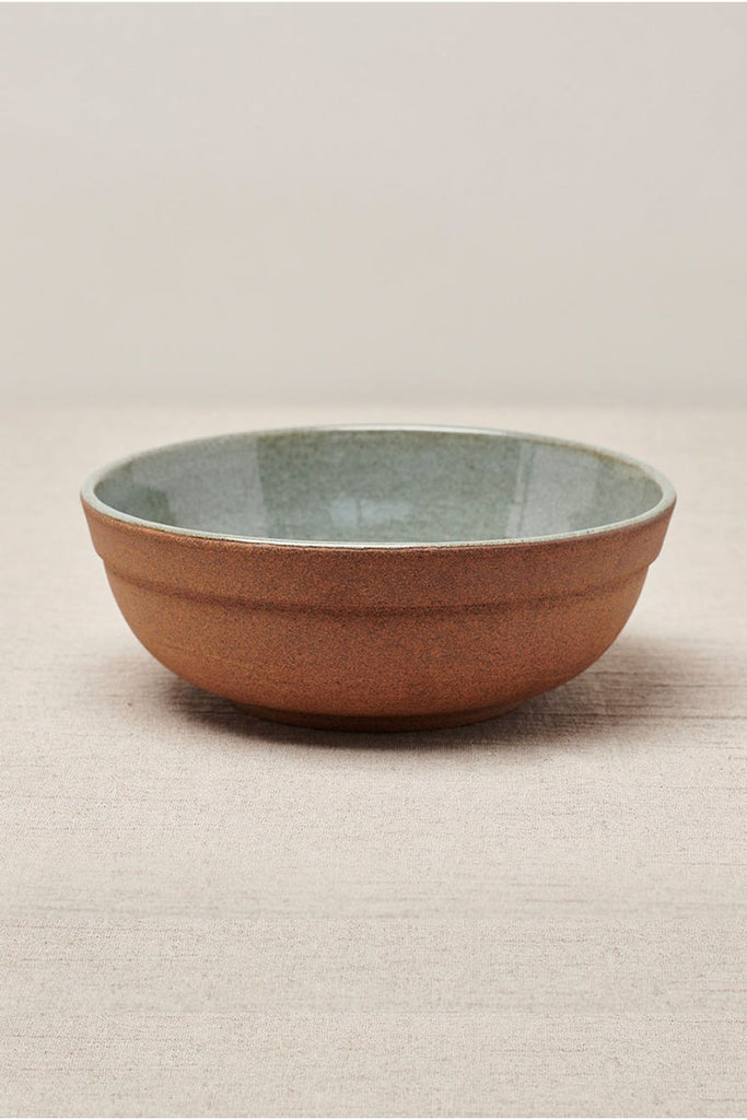 CISCO & THE SUN MUJI SALAD BOWL - NATURAL EARTH GREEN