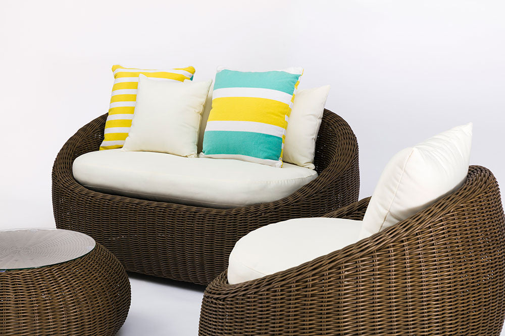 Bondi 4 Piece Outdoor Wicker Sofa Set
