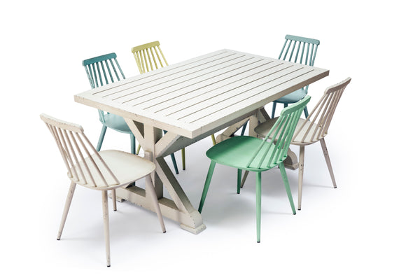 Capel Outdoor 6 Seat Aluminium Dining Set