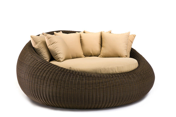 Ansan Outdoor Furniture Outdoor Wicker Day Bed