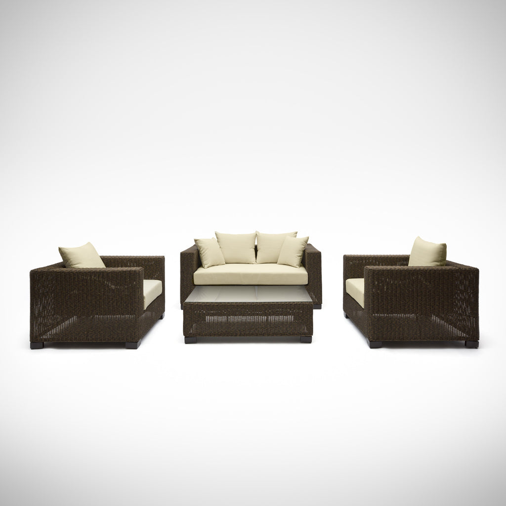 Noosa 5 Piece Outdoor Wicker Sofa Set