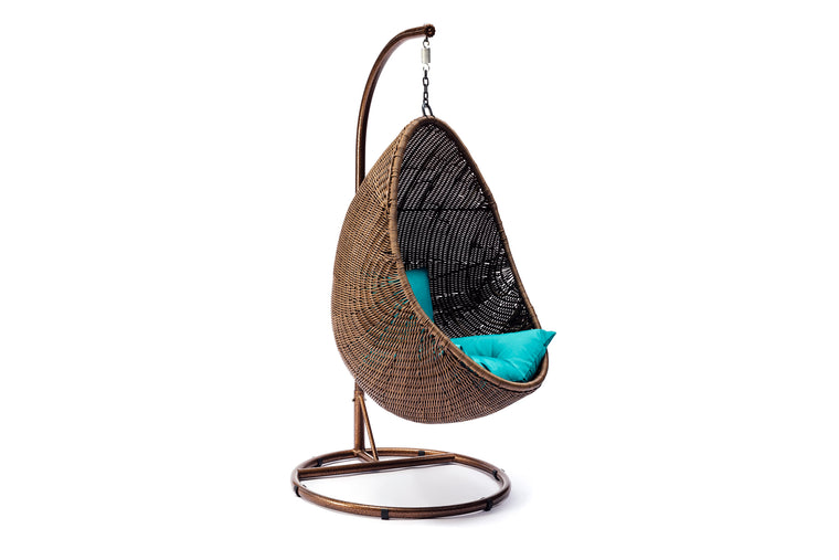 Wicker Egg Swing Chair