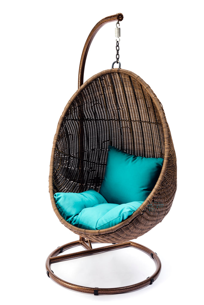ansan outdoor furniture wicker egg swing chair. Black Bedroom Furniture Sets. Home Design Ideas