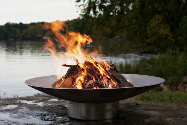 Saturn Stainless Steel Fire Pit