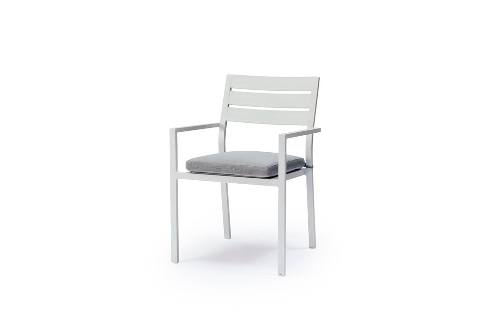 Whitehaven Aluminium 6 Seat Outdoor Dining Table and Chairs