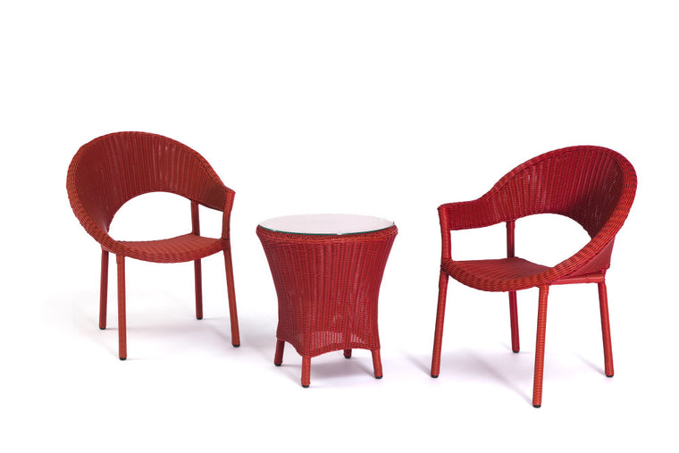 Ansan Outdoor Furniture PE Wicker Balcony Set