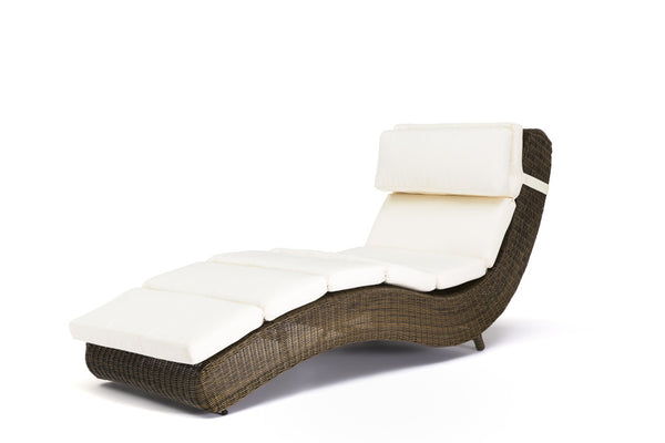 Ansan Outdoor Furniture Wicker Sunbed