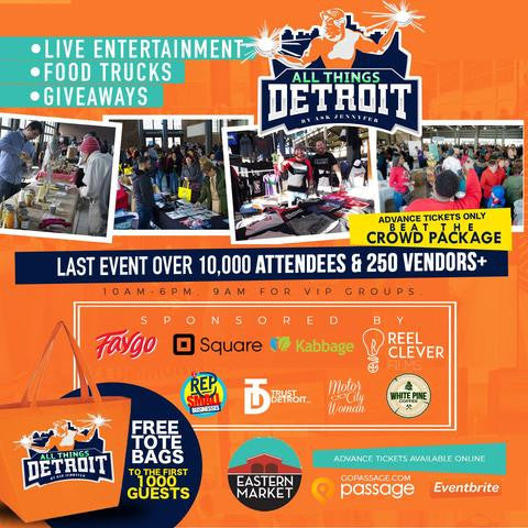 We have our table assignment from All Things Detroit!