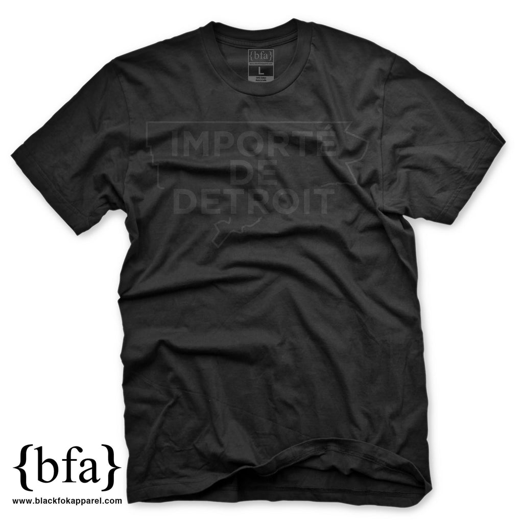 Importe de Detroit - BLACK ON BLACK Coming Soon!