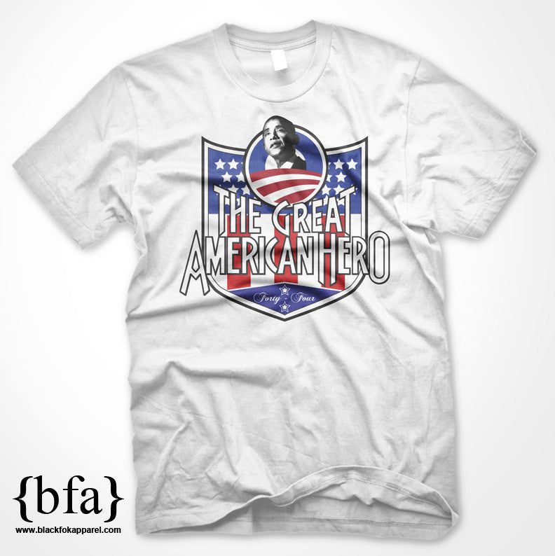 President Obama The Greatest American Hero T-shirt available now!