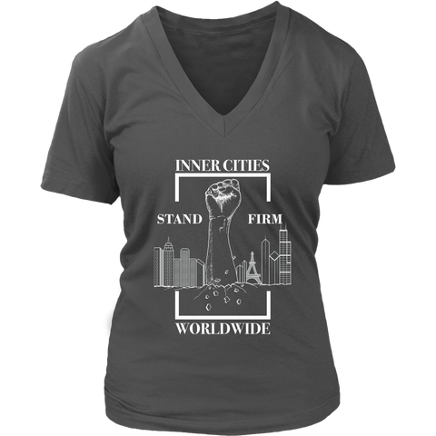 Stand Firm Original Women's V-Neck T-Shirt