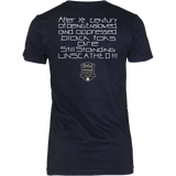 Tha Truth Blackfokapparel Navy Women's T-Shirt