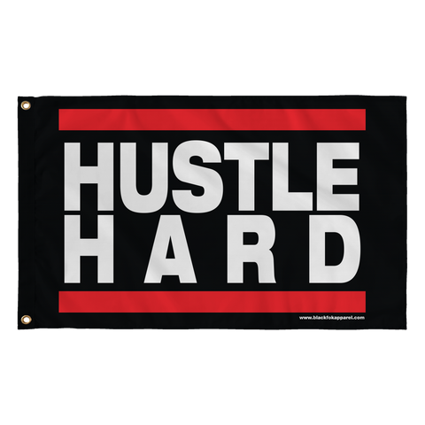 Hustle Hard Large Flag 36 x 60