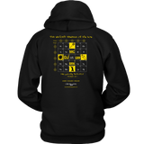Hip Hop hooded sweatshirt blackfokapparel