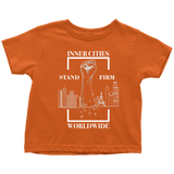 Stand Firm Original Toddler Tshirt Orange