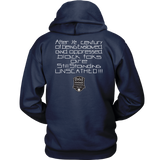 Tha Truth Blackfokapparel Navy Unisex Hoodie