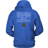 Tha Truth Blackfokapparel Royal Unisex Hoodie