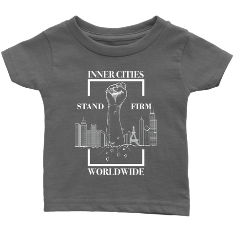 Stand Firm Original Infant Tshirt Grey