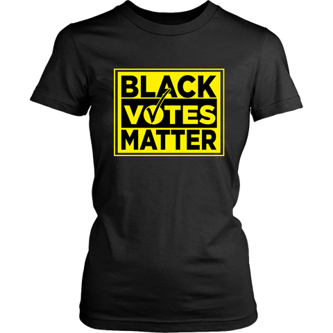 Black Votes Matter Womens T-shirt
