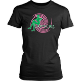 Ladylike Women's T-shirt-Pink and Green