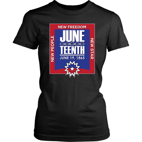 Juneteenth Womens T-shirt