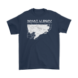 What U Rep? Detroit Unisex T-shirt - Multiple Colors