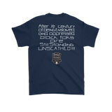 Tha Truth Blackfokapparel Navy Unisex T-Shirt