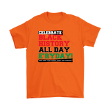 Celebrate Black History Short Sleeved T-Shirt