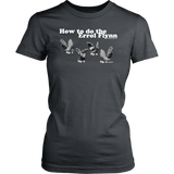 How to do the Errol Flynn Womens T-shirt