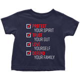 The Pledge - Protect Trust Love Defend Toddler T-shirt