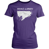 What U Rep? Detroit Womens T-shirt - Multiple Colors