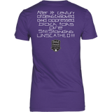 Tha Truth Blackfokapparel Purple Women's T-Shirt