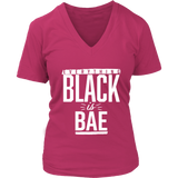 Everything Black is Bae Womens V-Neck T-Shirt