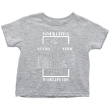 Stand Firm Original Toddler Tshirt grey