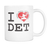 I Love Detroit 11 OZ Mug