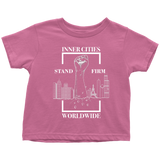 Stand Firm Original Toddler Tshirt Pink