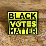 black votes matter blackfokapparel soft enamel pin pack