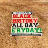 celebrate black history blackfokapparel soft enamel pin pack