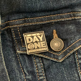 day one detroiter pin