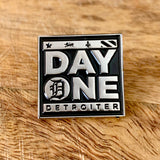 day one detroiter blackfokapparel soft enamel pin pack