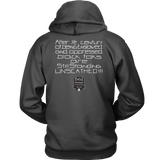 Tha Truth Blackfokapparel Charcoal Unisex Hoodie