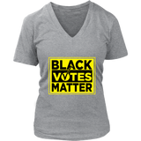 Black Votes Matter Womens V-neck T-shirt
