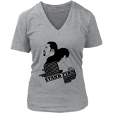 Stand Firm Womens V-neck T-shirt