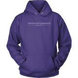 Tha Truth Blackfokapparel Purple Unisex Hoodie