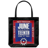 Juneteenth Tote Bag - Multiple Colors