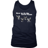 How to do the Errol Flynn Mens Tanktop