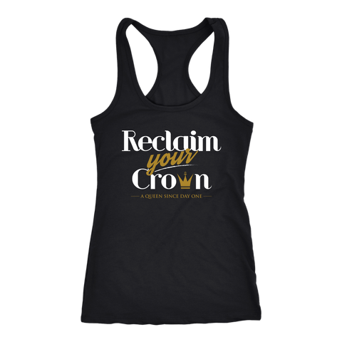 Reclaim Your Crown Women's Racerback Tank top
