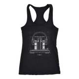 The Perfect Beat Womens Racerback Tanktop