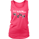 How to do the Errol Flynn Womens Tanktop