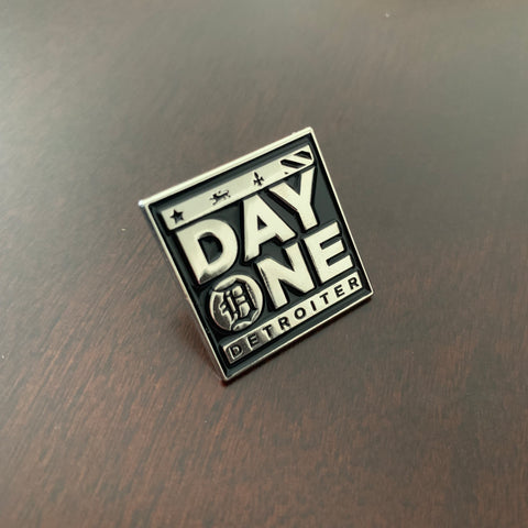 Day One Detroiter Soft Enamel Pin